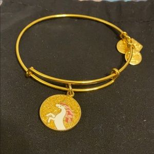 Alex and Ani Unicorn Bracelet